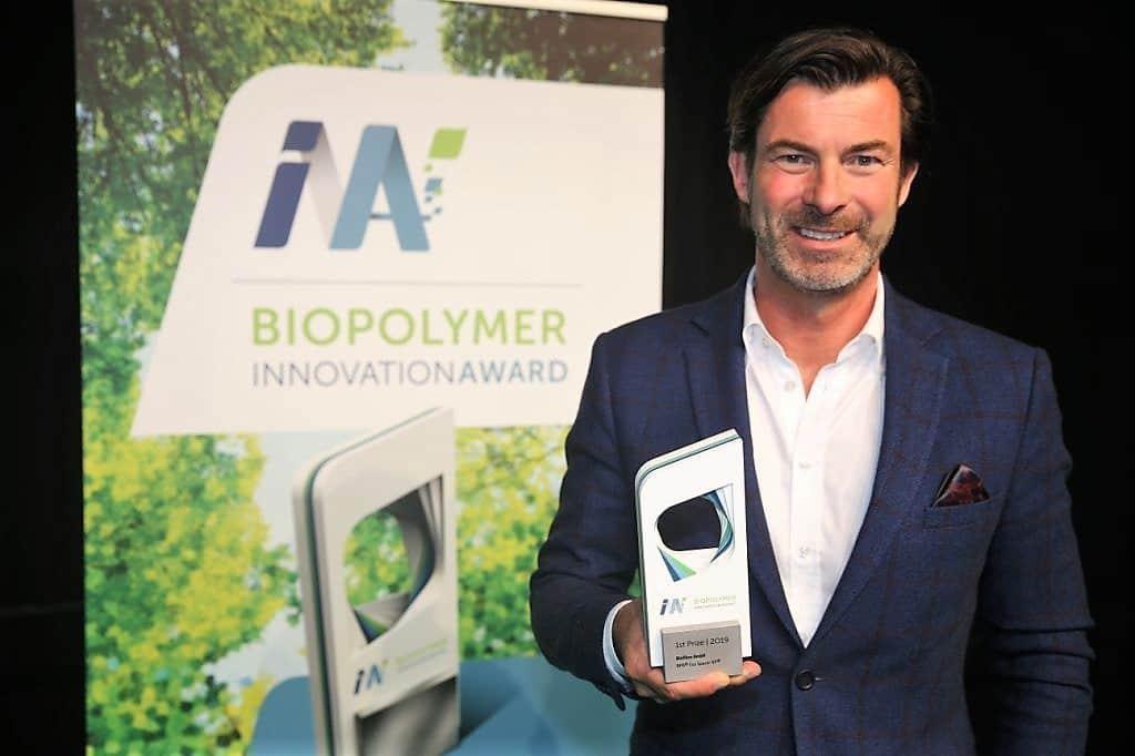 BIOPOLYMER Innovation Award (1) -Christoph Glammert Biofibre