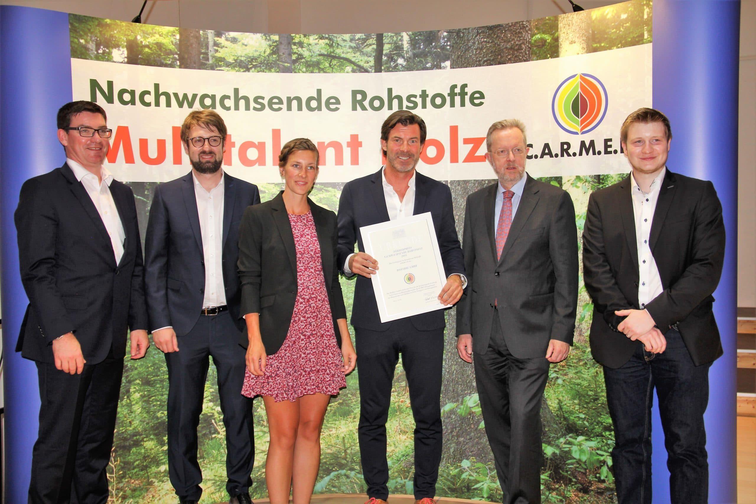 Bestes Bild Förderpreis Christoph Glammert Biofibre
