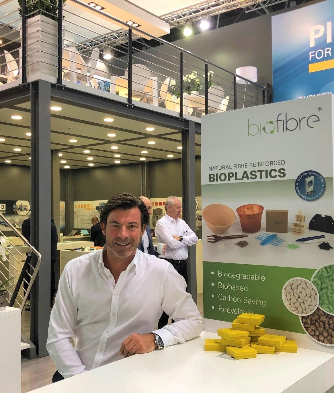 Christoph Glammert Biofibre Messestand